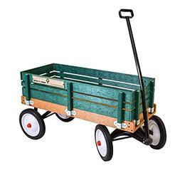 classic green earth wagon utility