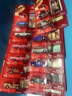Johnny Lightning Coca Cola Calendar Girl Series Bel Air Jeep