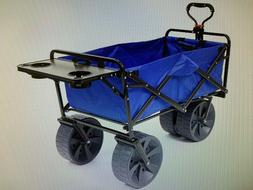 Mac Sports Collapsible All Terrain Beach Utility Wagon with