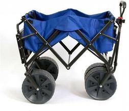 collapsible all terrain beach utility wagon