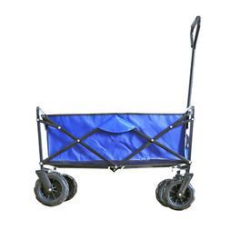 Collapsible Camping Wagon Outdoor Garden Heavy Duty Shopping