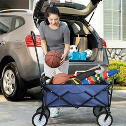 collapsible durable folding wagon outdoor garden utility