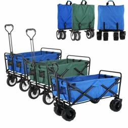 Collapsible Folding Beach Wagon Camping Garden Utility All-T