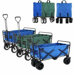 collapsible folding beach wagon camping garden utility