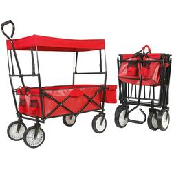Collapsible Folding Garden Outdoor Camping Utility Wagon Rol