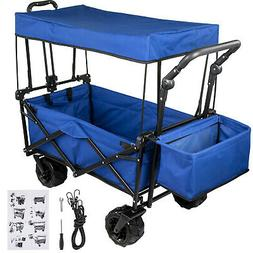 Collapsible Folding Wagon Beach Camp Garden Outdoor Utility