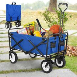 collapsible folding wagon cart utility garden camp