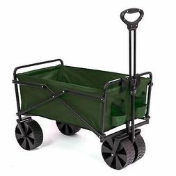 Seina Collapsible Steel Frame Folding Utility Beach Wagon Ou