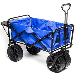 Collapsible Wagon Beach Cart, All-Terrain Wagon Foldable Car