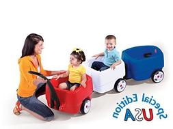 Step2 Complete Choo Choo USA Wagon Toddler 3 Pull Carts Trai