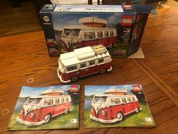 Lego Creator   VOLKSWAGEN T1 CAMPER  10220 VW VAN Bus HIPPIE