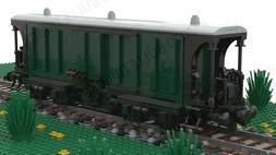 LEGO CUSTOM TRAIN BOXCAR/MILK WAGON  INSTRUCTIONS CROCODILE