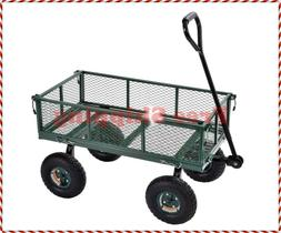 CW3418 Muscle Carts Steel Utility Garden Wagon, 400 lb. Load