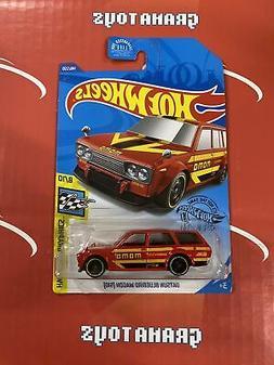 Datsun Bluebird Wagon  #146 Red Momo 2020 Hot Wheels Case H