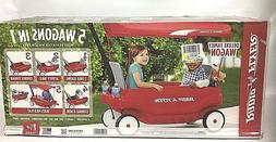 RADIO FLYER DELUXE FAMILY WAGON - 5 WAGONS IN 1