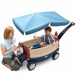 Push Wagon For Kids To Ride In Wagons Pushable Pullable With