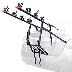 Allen Sports Deluxe 4-Bike Trunk Mount Rack