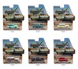 New DIECAST Toys CAR Greenlight 1:64 Estate Wagons Series 2