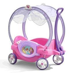Step2 Disney Princess Chariot Wagon Girls Outdoor Pink Toddl