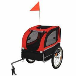 dog bike trailer pet carrier wagon pushchair