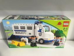 Lego Duplo Police Truck 5680 Paddy Wagon Officer Jail Bad Gu