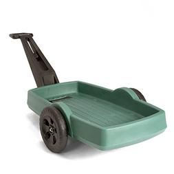 Simplay3 Easy Haul Plastic Flat Bed Yard and Garden Wagon, H