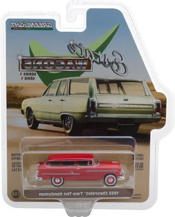 Greenlight Estate Wagons 1955 Chevy Two-Ten Handyman Red