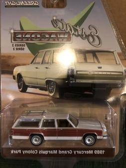 Greenlight Estate Wagons  1989 Mercury Grand Marquis Colony