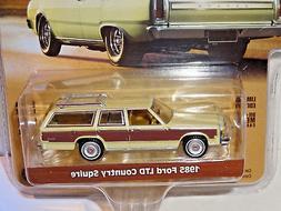 estate wagons series 1 light yellow 1985