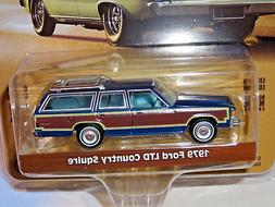 GREENLIGHT ESTATE WAGONS SERIES 1 MIDNIGHT BLUE 1979 FORD LT