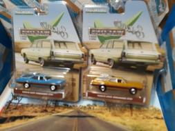 GREENLIGHT ESTATE WAGONS SERIES 3 LOT OF 2 1970 & 1972 OLDSM