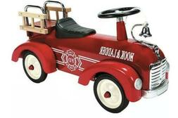Fire Truck Metal Speedster - Ride-Ons & Wagons by Schylling