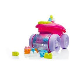 Mega Bloks First Builders Block Scooping Wagon Pink Fun Buil