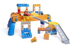 Mega Bloks First Builders Build N' Go Table Building Blocks