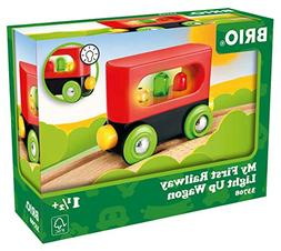 My First Railway Light Up Wagon - Wooden Toys - Ravensburger