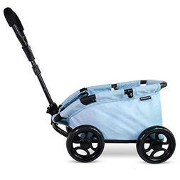 TRIOKID My First Kids Toy Wagon for Doll Trioswagon Blueberr