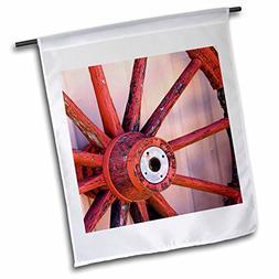 3dRose fl_92670_1 Farm Western Wagon Wheel Santa Fe New Mexi