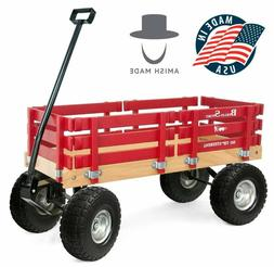 Flyer Ride Sport Wagon for Kids, All Terrain - Amish  No-Pin