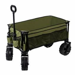 Timber Ridge Folding Camping Wagon/Cart - Collapsible Sturdy
