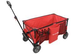 Folding Garden Carts Yard Wagon Cart Lawn Utility Cart Outdo
