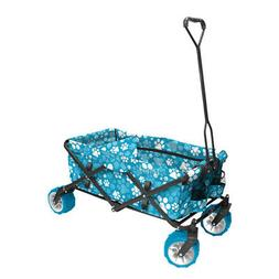 7 cu. ft. Folding Garden Wagon Cart Outdoor Yard Equipment F