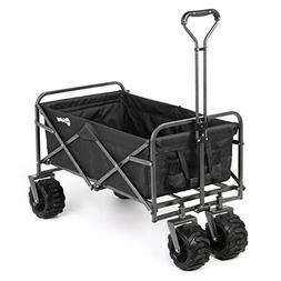 Sekey Folding Wagon Cart Collapsible Outdoor Utility Wagon H