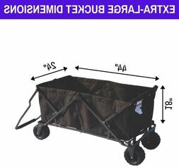 Impact Canopy Folding Wagon Collapsible Beach Utility Garden