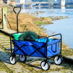 Folding Wagon Garden Beach Utility Cart Toy Sport Buggy Kid