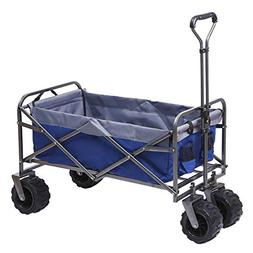 ARTPUCH Folding Wagon All-Terrain Collapsible Utility Garden