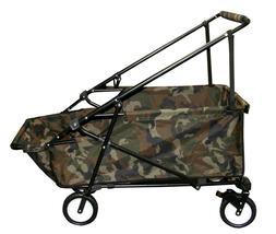 Impact Canopy Folding Wagon Utility Cart Collapsible Garden