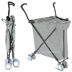 <font><b>Collapsible</b></font> Shopping Cart, Light 3.2KG G