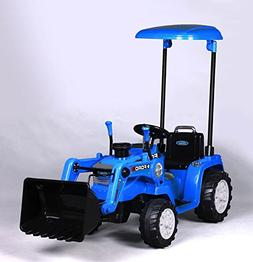 Beyond Infinity Ford Tractor with Loader, Battery Powered Wh