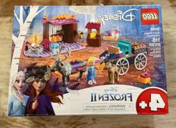 Frozen II Lego Set 41166 ELSA'S WAGON ADVENTURE New