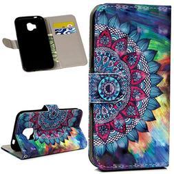 Galaxy J2 Pro Case 2018, Wallet Flip Folio Case Kickstand Ca